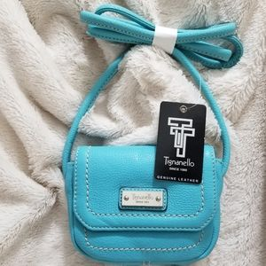 TIGNANELLO *NWT* BLUE CROSS BODY